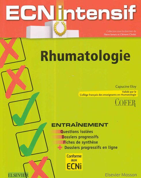 ecn rhumatologie